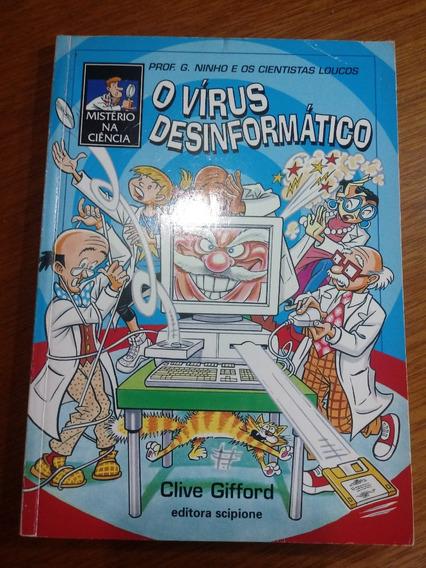 Livro O Vírus Desinformático Autor Clive Gifford .obc Store