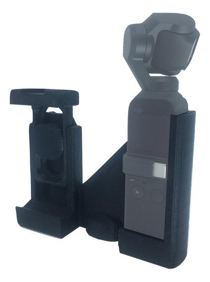 Adaptador P/ Osmo Pocket E Celular Universal Com Rosca 1/4