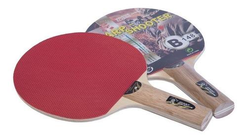 Paleta Ping Pong Madera Tenis Mesa Goma 1 Estrella Star