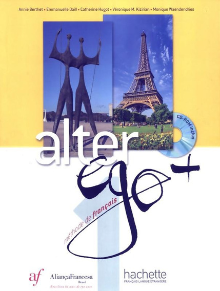 Alter Ego + 1 Bresil - Livre De L´eleve