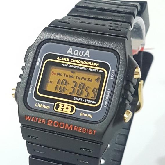 Kit 10 Relógio Aqua Prova D