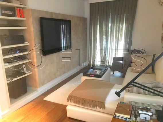 Apartamento Alto Padrão Com 04 Suítes, No Brooklin, Entre A A Marginal Pinheiros E Berrini - Sf30374