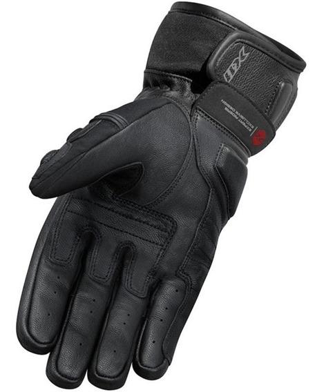 Luva Motociclista X11 Impact 2 Cano Curto De Couro Proteções