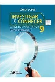 Livro Ciências Investigar E Conhecer 9 Ano