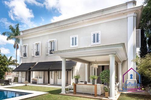 Imagem 1 de 26 de Casa Com 4 Dormitórios À Venda, 545 M² Por R$ 8.500. - Jardim Guedala - São Paulo/sp - Ca1281