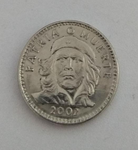 Lote X 2 Monedas Cuba Ernesto Che Guevara 3 Pesos Año 2002