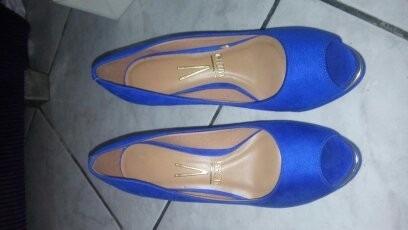 Sapato Scarpins E Tamanco Jeans Numero 36