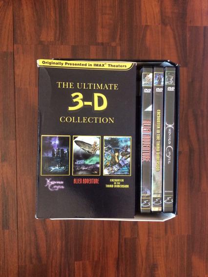 Equipamento 3d Para Tv Com 3 Filmes, Óculos E Pilhas