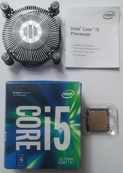 Processador Intel I5 7400, Socket 1151 - 6mb Sétima Geração