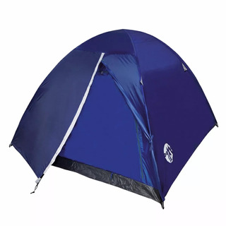 Carpa Waterdog Familiar Camping Dome 2 Abside X 3 Personas