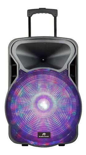 Bafle Potenciado Usb - Bluetooth -radio Fm - Microfono