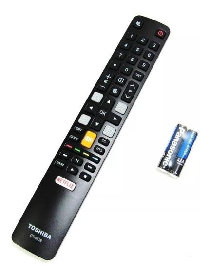 Controle Tv Semp Tcl Toshiba 4k Ct-8518 Original!! Linha 4k
