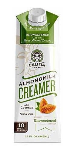 Califia Farms Almondmilk Coffee Creamer Con Crema De Coco,