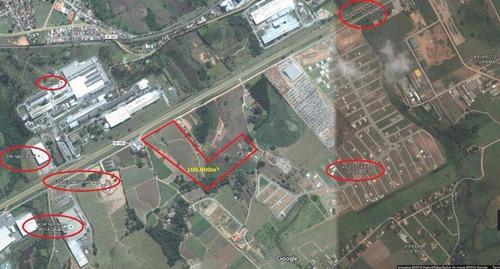 Imagem 1 de 1 de Área Industrial À Venda, 100.000m² Por R$ 24.000.000 - Vila Galvão - Caçapava/sp - Ar0008