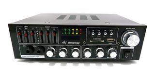 Amplificador American Sound Ak-450ub Con Bluetooth Y Control