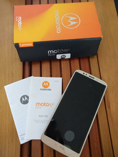 Celular Moto E5 Plus - Defeito Na Placa Mãe E Bateria