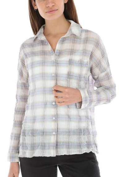 Camisas Mujer Rockford Bls/gardenia/ws18 Baby Blue Relax