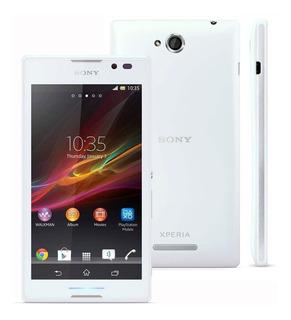 Sony Xperia C C2304 Branco Original Anatel Vitrine