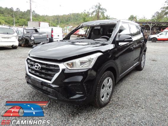 Sucata Hyundai Creta Automática 2019/2019 P/ Venda De Peças
