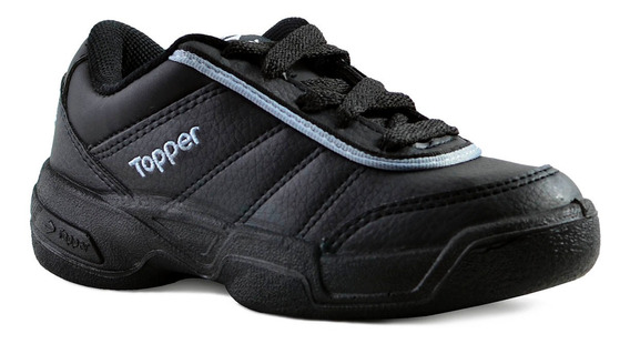 Zapatillas Topper Tie Break Ii Niños Negro
