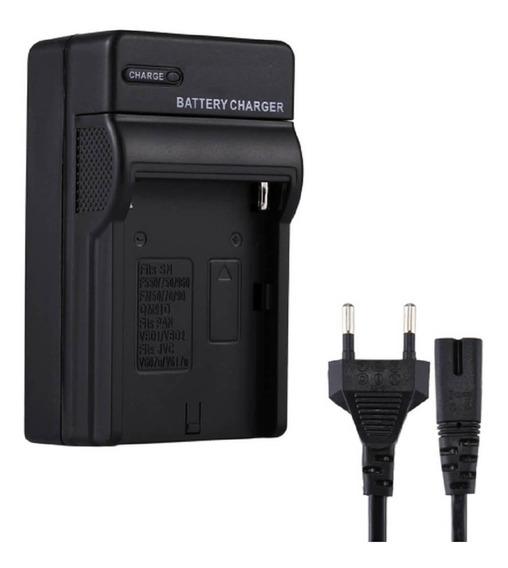Carregador De Baterias Para Sony Np-f550 / Np-f750 / Np-f950