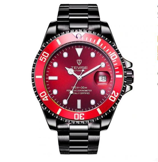 Relógio Automático Tevise Luxo Original Frete Grátis Barato