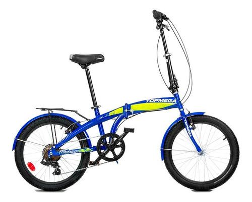 Bicicleta Plegable Topmega Folding Acero 20- Andes Motors