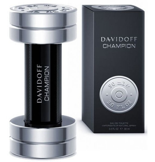 Perfume Davidoff Champion 90 Ml - Lacrado - Selo Adipec