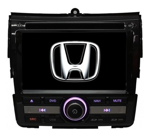 Kit Central Multimidia Honda City Dvd Gps Bt Camera De Ré