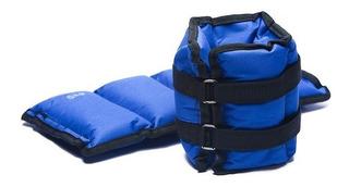 Pesas 1 Kg X2 Para Tobillos, Muñecas Y Cintura Ajustable