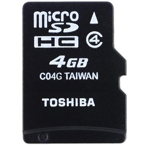 Cartão Micro Sdhc 4gb Toshiba Ou Lexar - Original Kit C/ 10