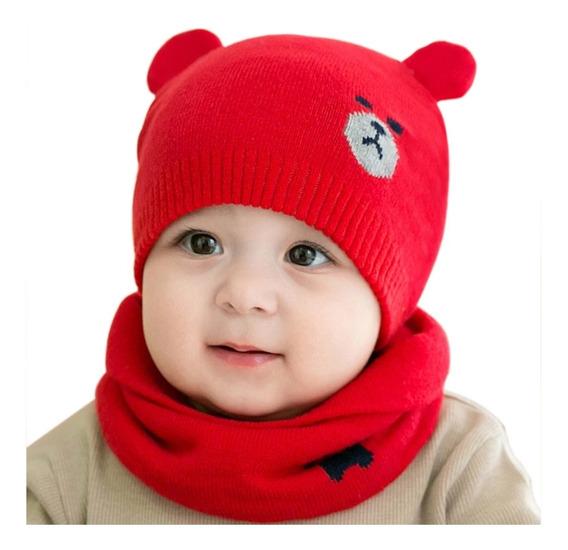 Gorro Bufanda Para Bebé