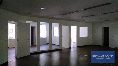 Conjunto Comercial Para Alugar, 154m² - Brooklin - São Paulo/sp - Cj1530