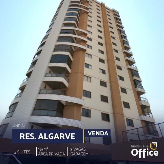 Apartamento Padrão Com 3 Quartos No Residencial Algarve - Off300-v