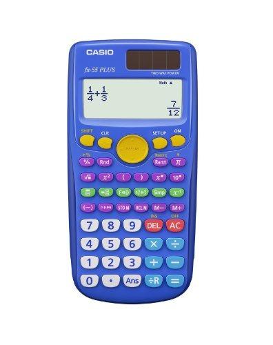 Imagen 1 de 1 de Fracción De La Calculadora Fx-55 Plus / Escuela Media Casio