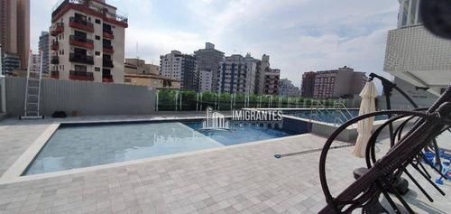 Imagem 1 de 26 de Apartamento Com 1 Suíte No Boqueirão, Em Praia Grande - Ap2583
