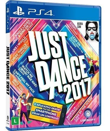 Jogo Just Dance 2017 Ps4 Playstation 4 Lacrado