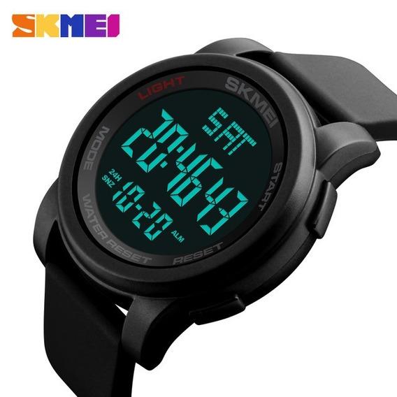 Relógio Masculino Skmei Led Digital Alarme Á Prova D