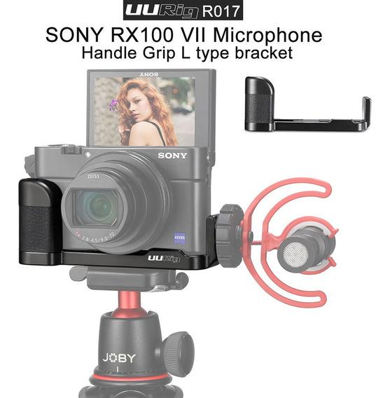 Placa Uurig R017 Vlog L Para Sony Rx100 Preta