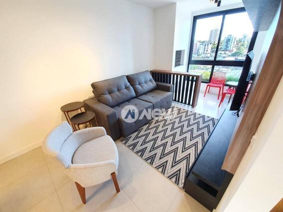 Apartamento Novo, Mobiliado Com 2 Dormitórios À Venda, 76 M² Por R$ 490.000 - Pátria Nova - Novo Hamburgo/rs - Ap2925