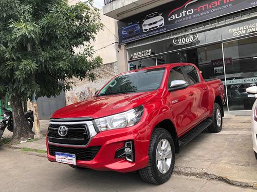 Toyota Hilux 2.8 Cd Srv 177cv 4x4 At 2019 Automania