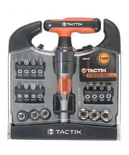 Juego Set Tubos Mini Crique Tactix 900220 24 Accesorios