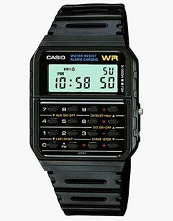 Reloj De La Calculadora Ca53w-1 De Hombres Cas