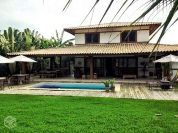 Linda Casa Duplex Em Condomínio Com 4 Quartos 270m2 Suítes Na Praia Do Forte - Uni424 - 4496318