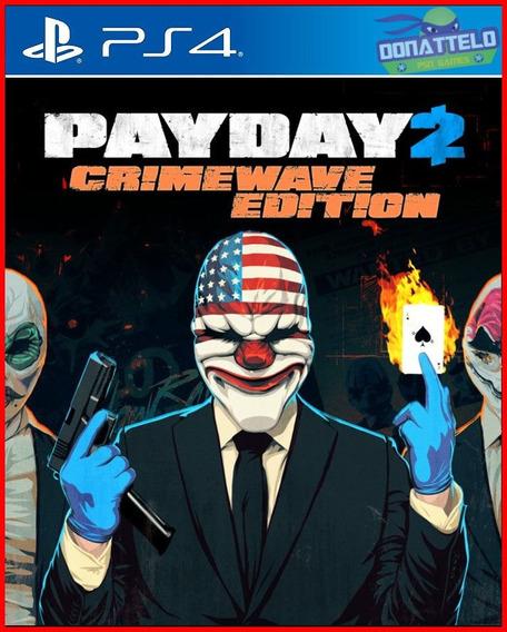 Payday 2 Crimewave Edition Ps4 Digital Legenda Em Português