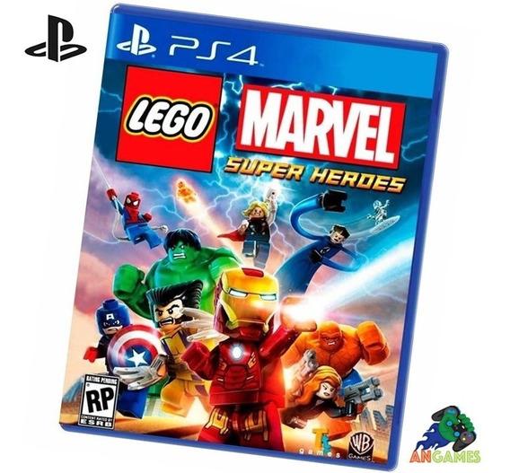 Lego Marvel Ps4 Playstation Pronta Entrega Lacrado