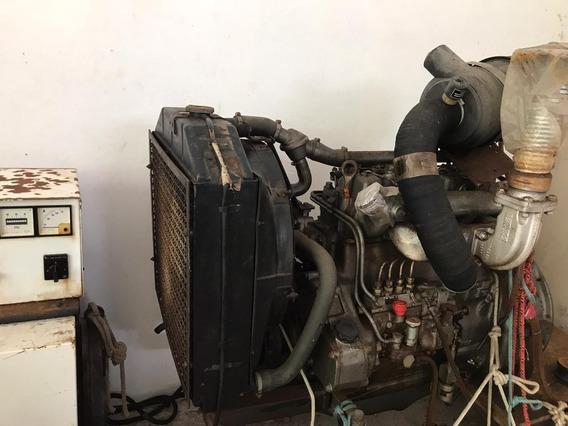 Vendo Gerador Stemac 55kva Motor Mwm 4cc 494 H Único Dono
