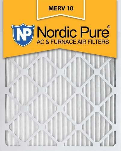 Nordic Pure 12x18x1 Exact MERV 11 Pleated AC Furnace Air Filters 4 Pack