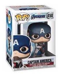 Funko Pop Capitán America Avengers Número 450