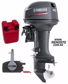 Motores Yamaha 40hp Arranque Eléctrico Pata Larga - Renosto